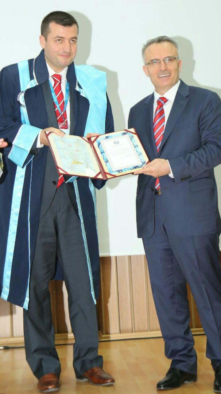 Trabzonlu akademisyenden Bayburt'a büyük kazanım