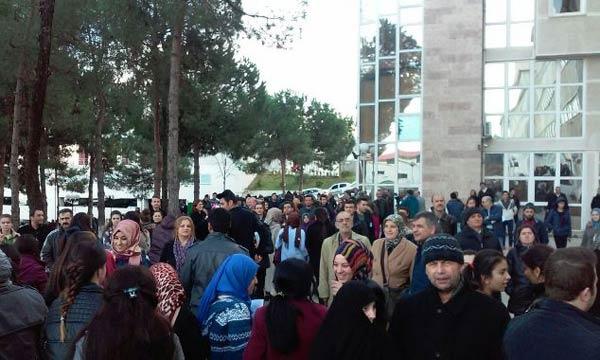 Trabzon'da YKS'de son prova