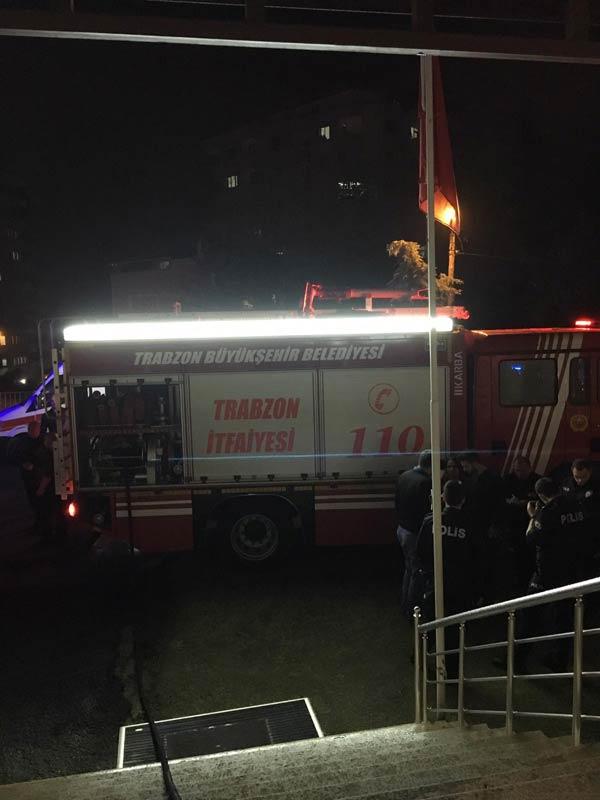 Son Dakika! Trabzon'da Çocuk Yuvası'nda yangın