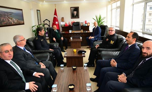 Vali Ustaoğlu'ndan Yomra Belediyesi'ne ziyaret
