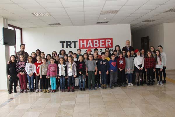 TRT'nin Trabzon'da harika çocukları