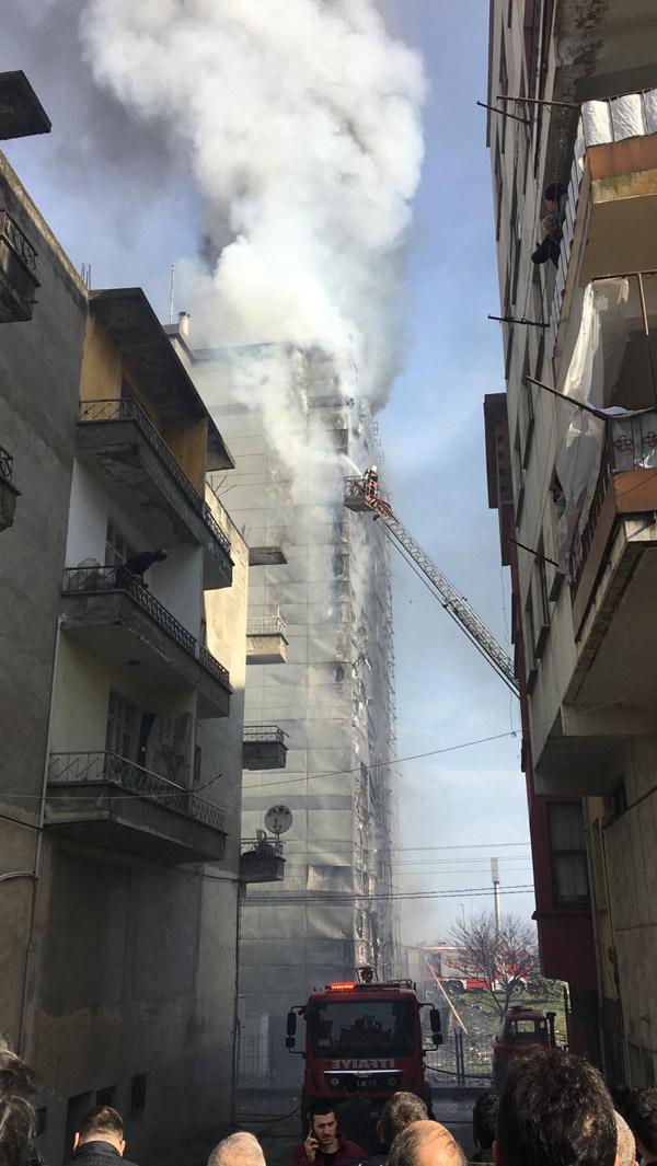 Son dakika - Avrasya Üniversitesinde yangın
