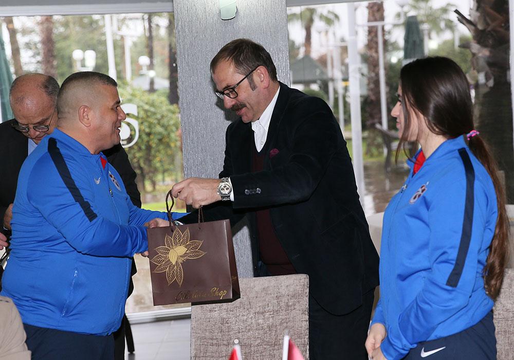 Trabzonspor Judocularla yemekte buluştu
