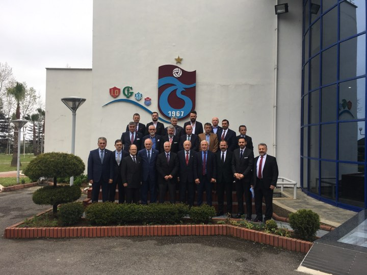 Trabzonspor'da devir teslim