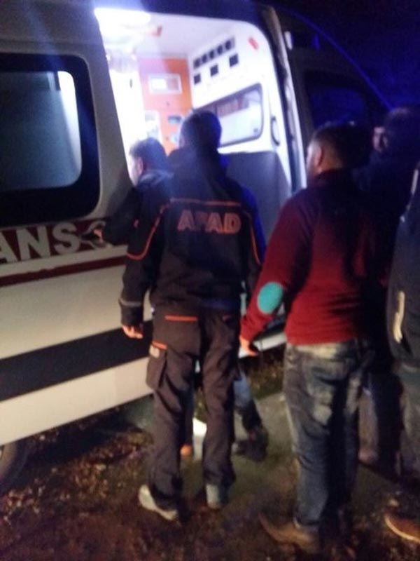 Trabzon'da yayla dönüşü kaza: 7 yaralı