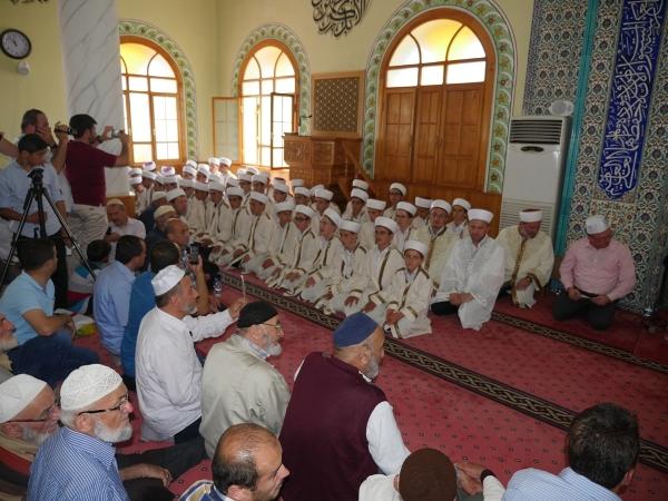Arsin'de icazet töreni yapıldı
