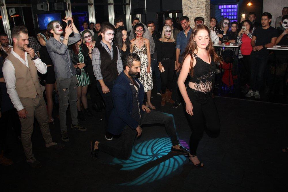 Trabzon'da cadılar bayramı kutlandı