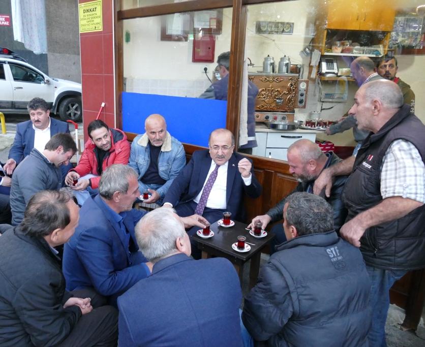 """""""Trabzon için gece gündüz iş başındayız"""""""