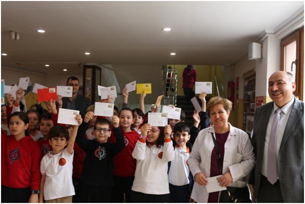Trabzon'da PTT'den anlamlı mektup kampanyası