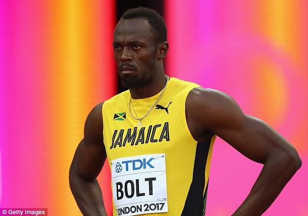 Useyin Bolt jübilesinde geçildi!
