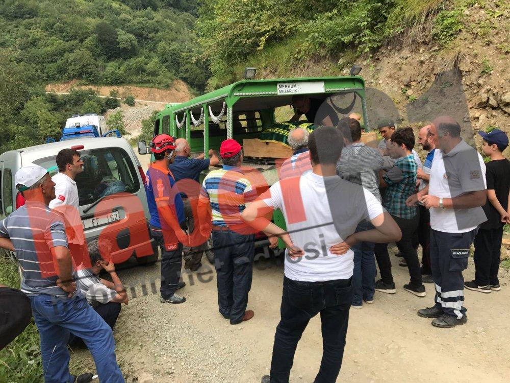 Trabzon'da kadın düşerek öldü!