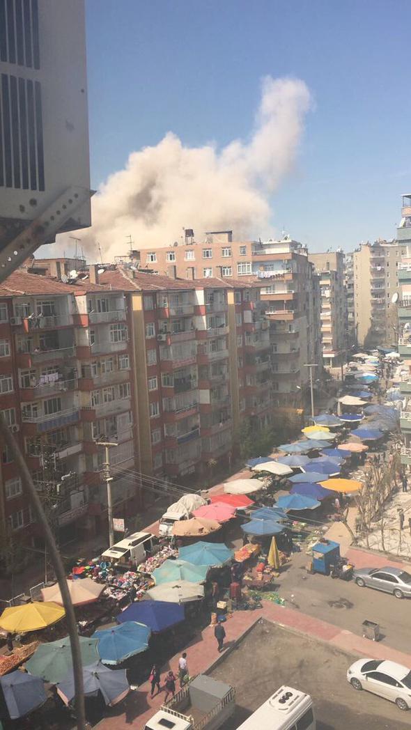 Diyarbakır Polis okulu yakınlarında patlama