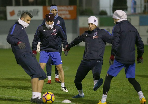 Trabzonspor'da kupa mesaisi devam ediyor