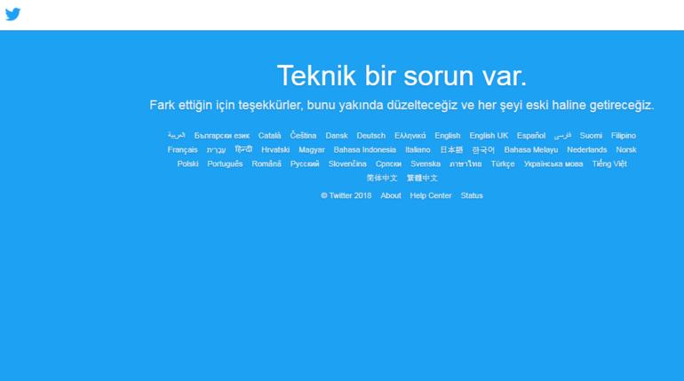 Twitter çöktü mü? Twitter'a neden girilemiyor?