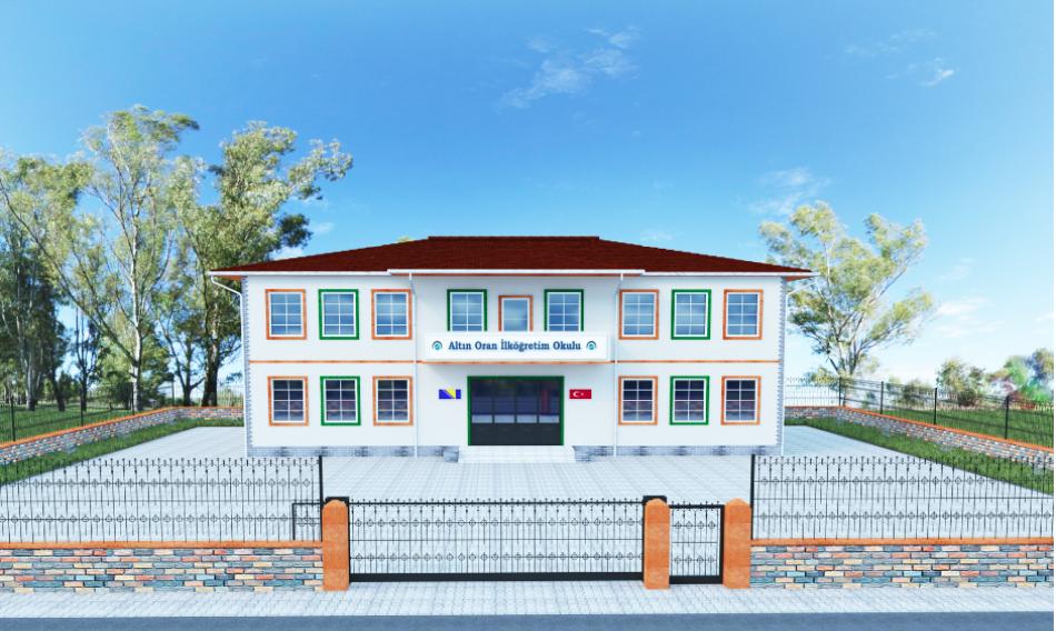 Su kuyusundan sonra köy okulu inşaa ettiler