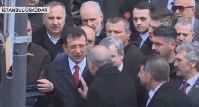 Erdoğan ve İmamoğlu seçimden sonra ilk kez yan yana