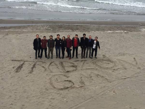 Trabzon ve Rize ekipleri birinci