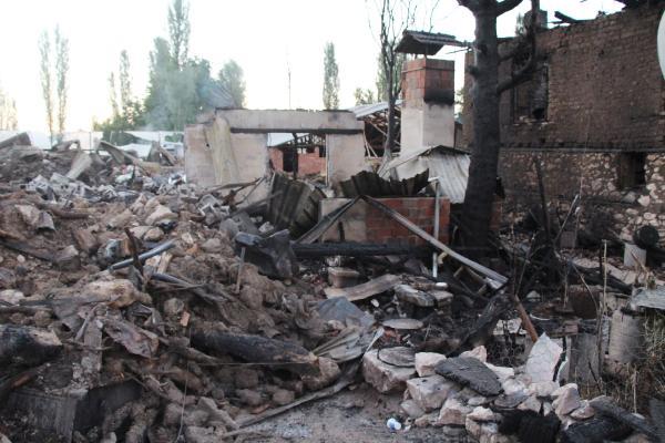 Yangın çıkan köylerde yaralar sarılıyor