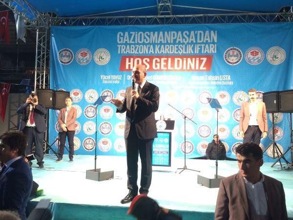 Trabzon'da dev iftar