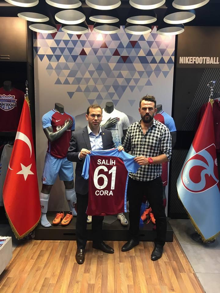 Trabzonlu vekilden Trabzonspor'a destek