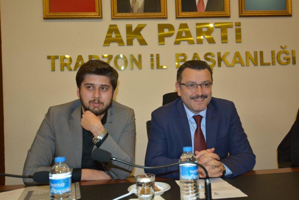 Genç, AK Parti Gençlik Kolları'nı ziyaret etti
