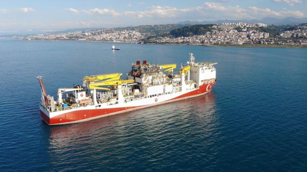 Bakan Dönmez açıkladı! Trabzon'a gelen Fatih Gemisinin hedefi