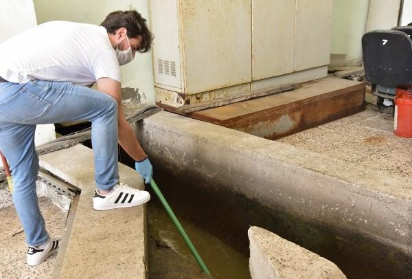 Giresun'da atık sulara koronavirüs taraması
