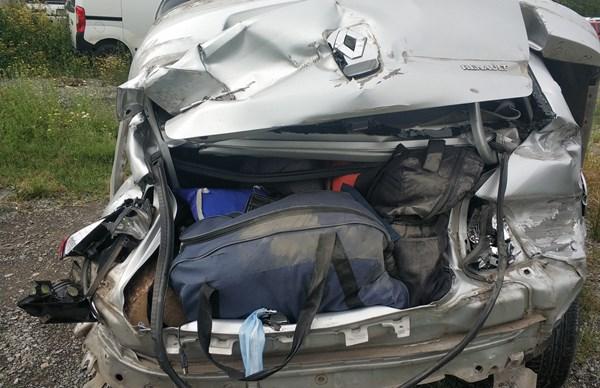 Rize'den yola çıktı kaza yaptı: 6 Yaralı