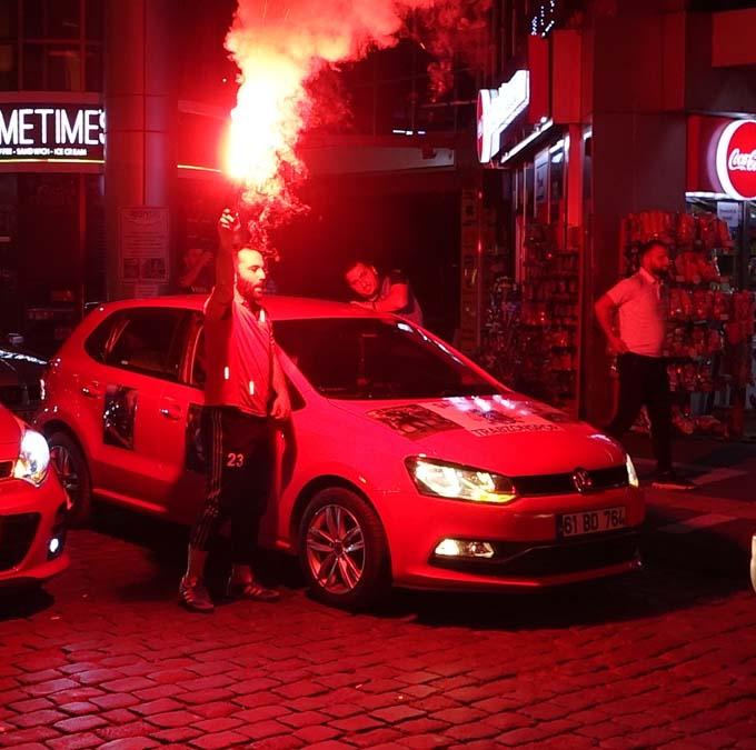 Trabzon'da büyük sevinç