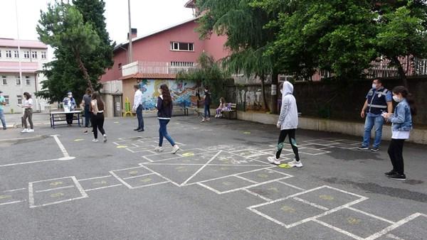 Trabzon'da LGS heyecanı