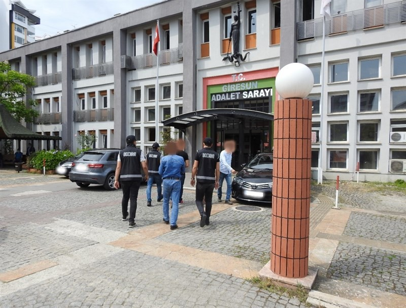Giresun'da operasyon: 3 kişi tutuklandı