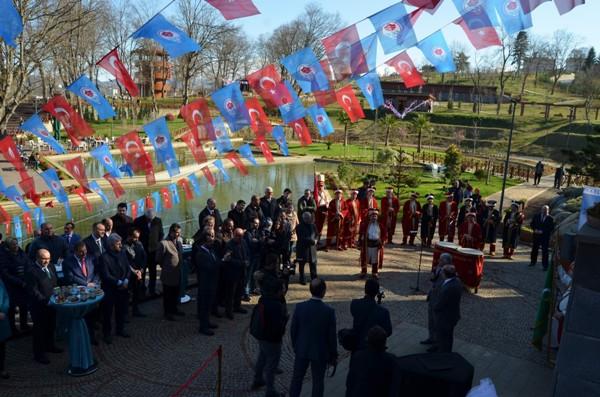 Trabzon'un ilk Millet Kıraathanesi açıldı