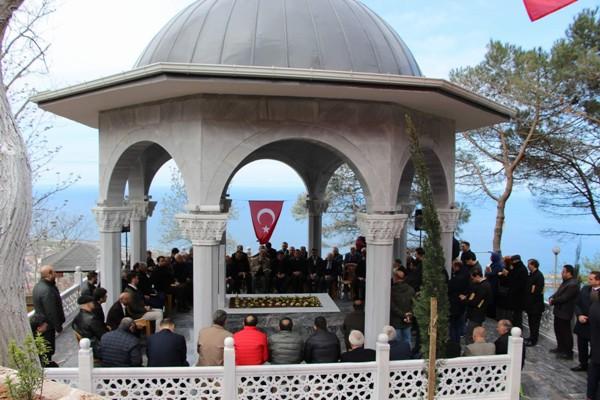 Trabzon'da Ali Şükrü Bey mezarı başında anıldı