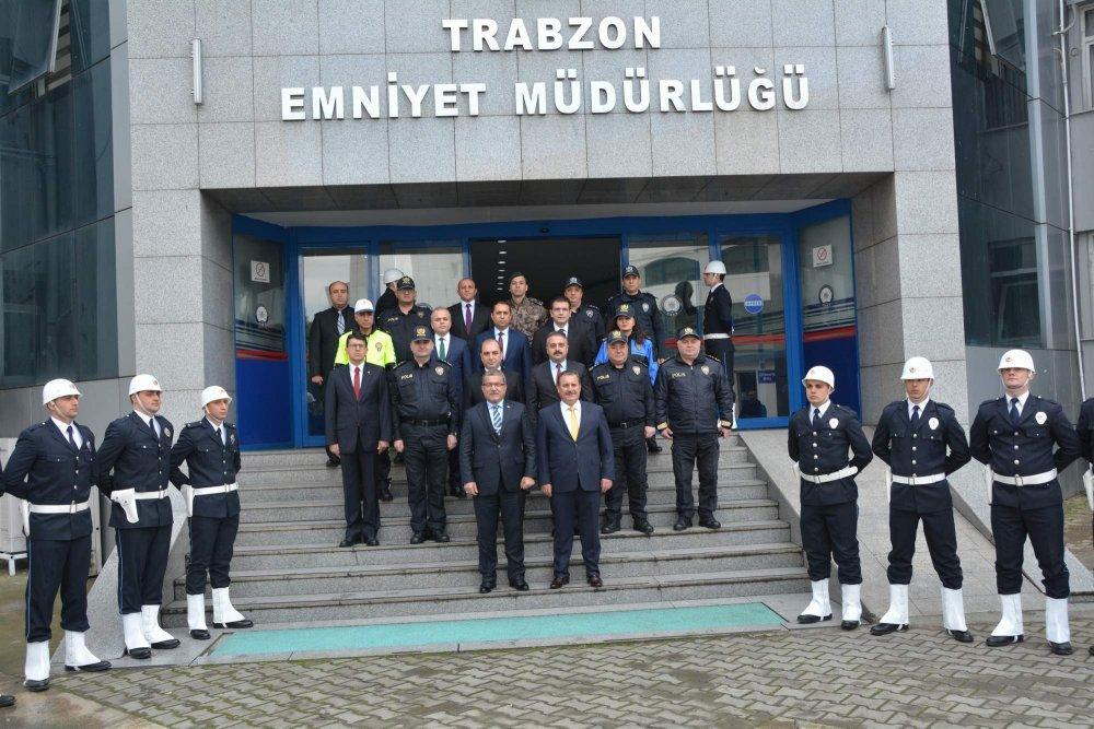 Emniyet Müdürü Uzunkaya, Trabzon'da!