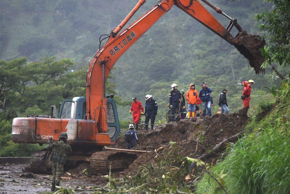 Kolombiya'da heyelanda ölü sayısı 30'a yükseldi