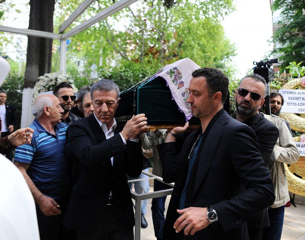 Başkan Ağaoğlu'ndan kayınvalidesine son görev