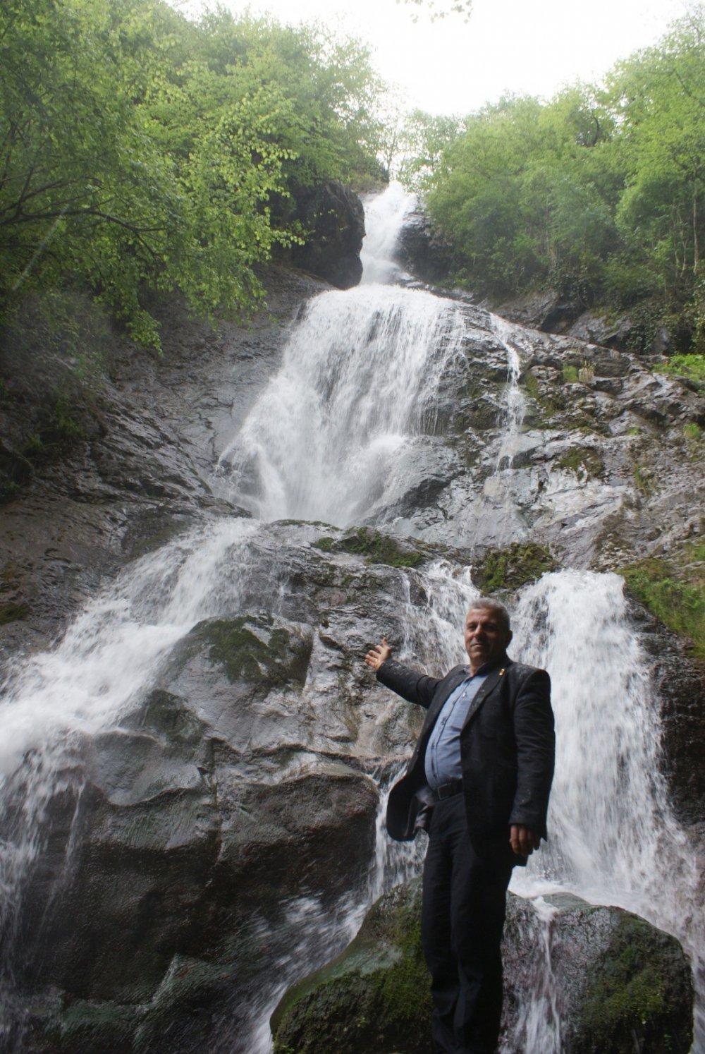 Trabzon'da bu şelale keşfedilmeyi bekliyor