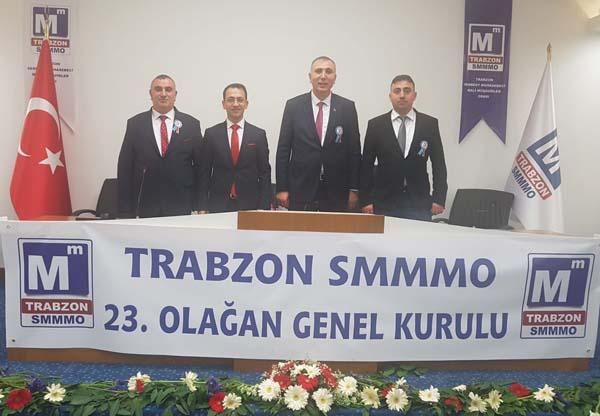 Trabzon'da 1 oyla başkan değişti