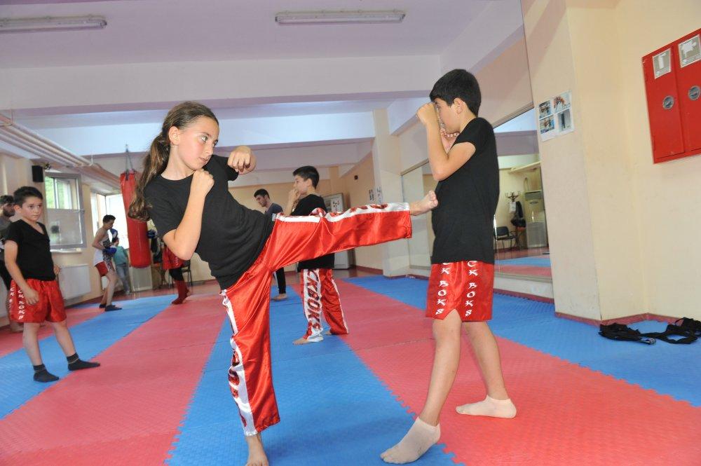 Trabzon'da Wushu- Kung Fu zamanı