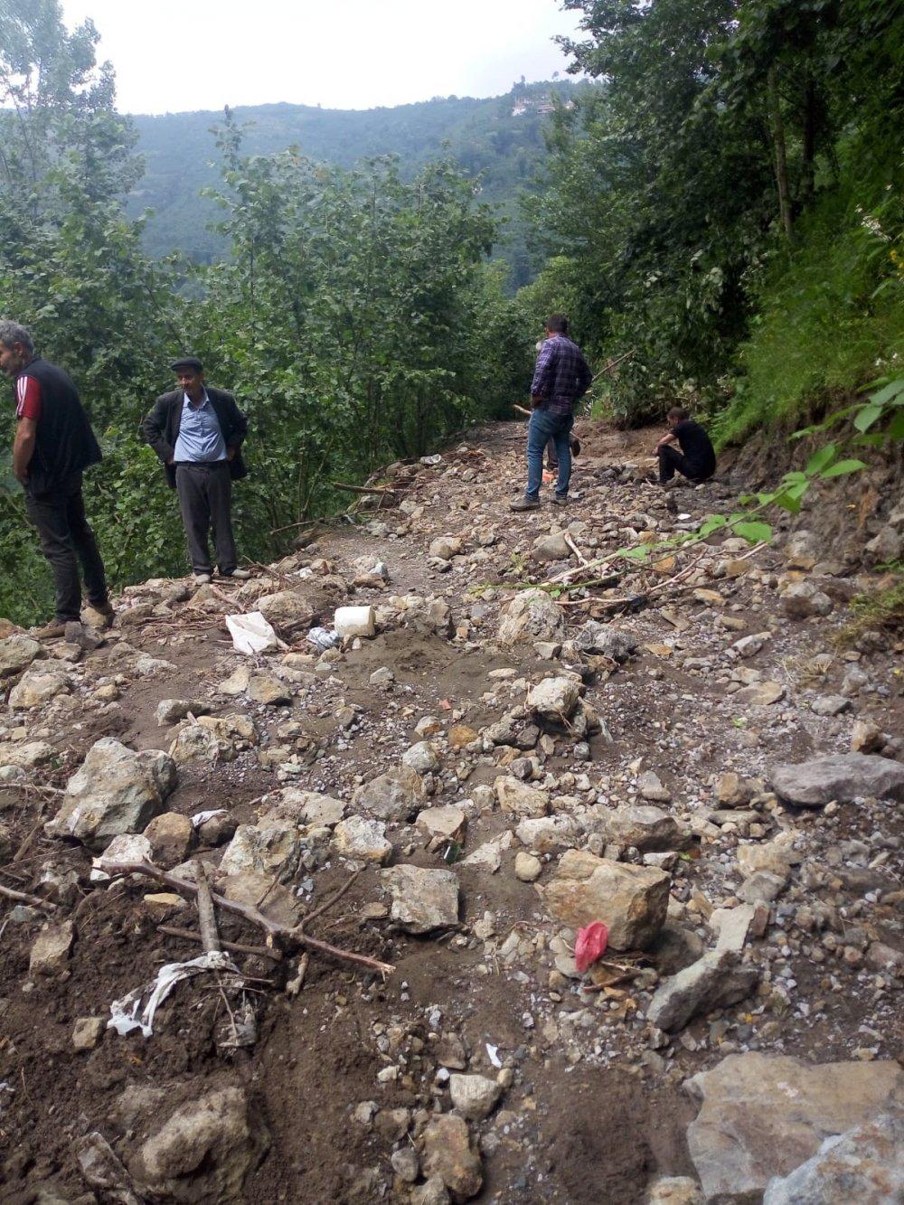 Ordu'daki sağanak sonrası 11 ilçede kısmi hasar oluştu