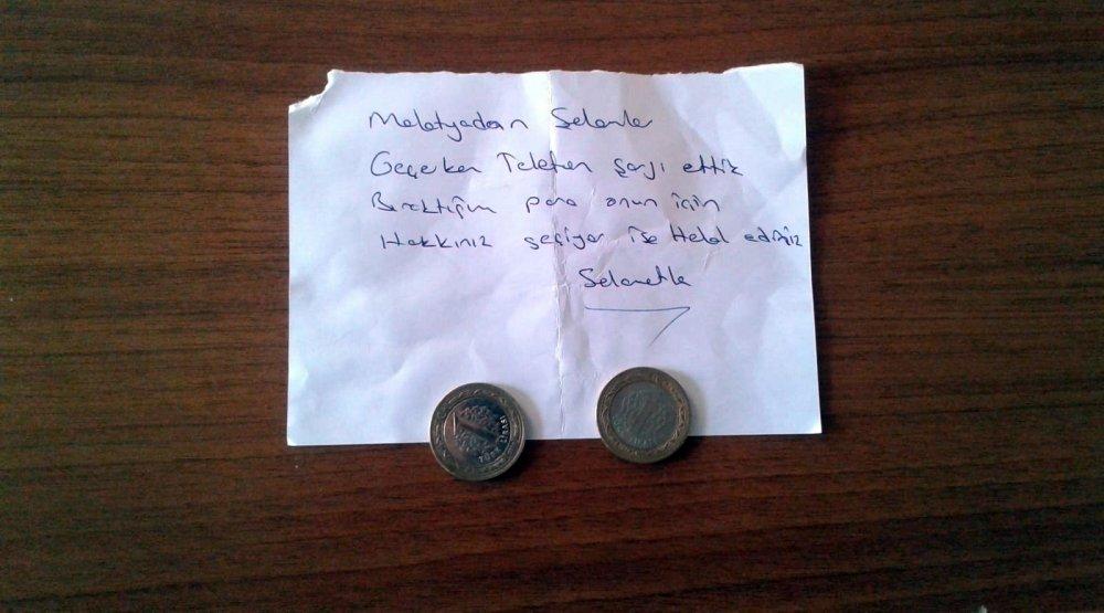 Camiye öyle bir not bıraktı ki... İmam şaşırdı!