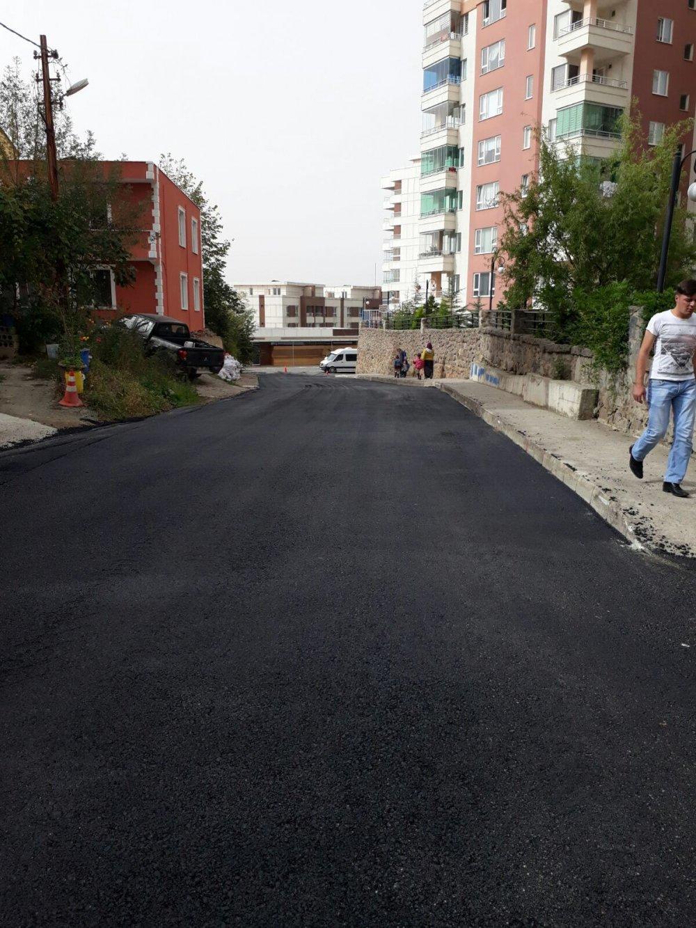 Trabzon'da 55 bin ton asfaltlama yapıldı