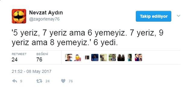 Nevzat Aydın'dan Bülent Uygun'a 6-0'lık gönderme!