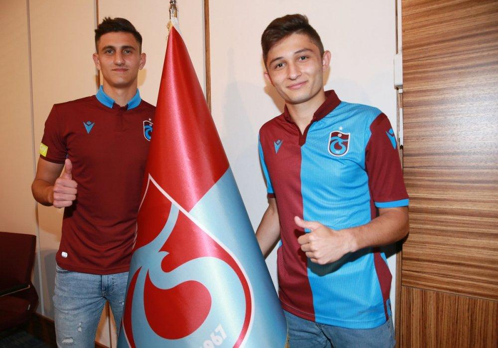 Trabzonspor'dan iki transfer birden!