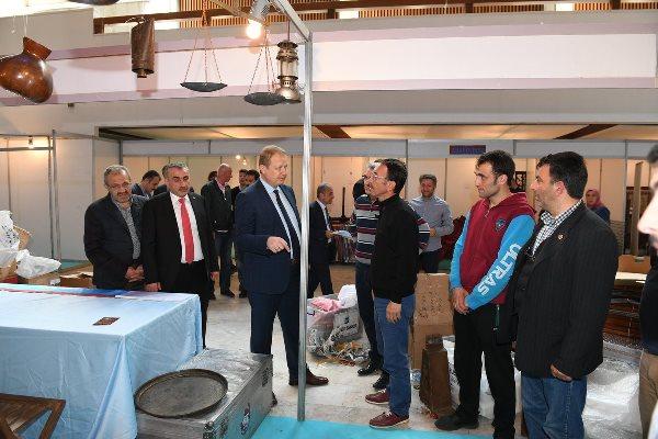 Trabzon Valisi Trabzon Günleri için incelemede bulundu