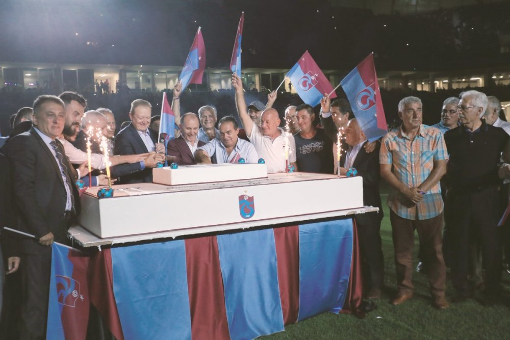 Trabzonspor 50. yılını kutladı