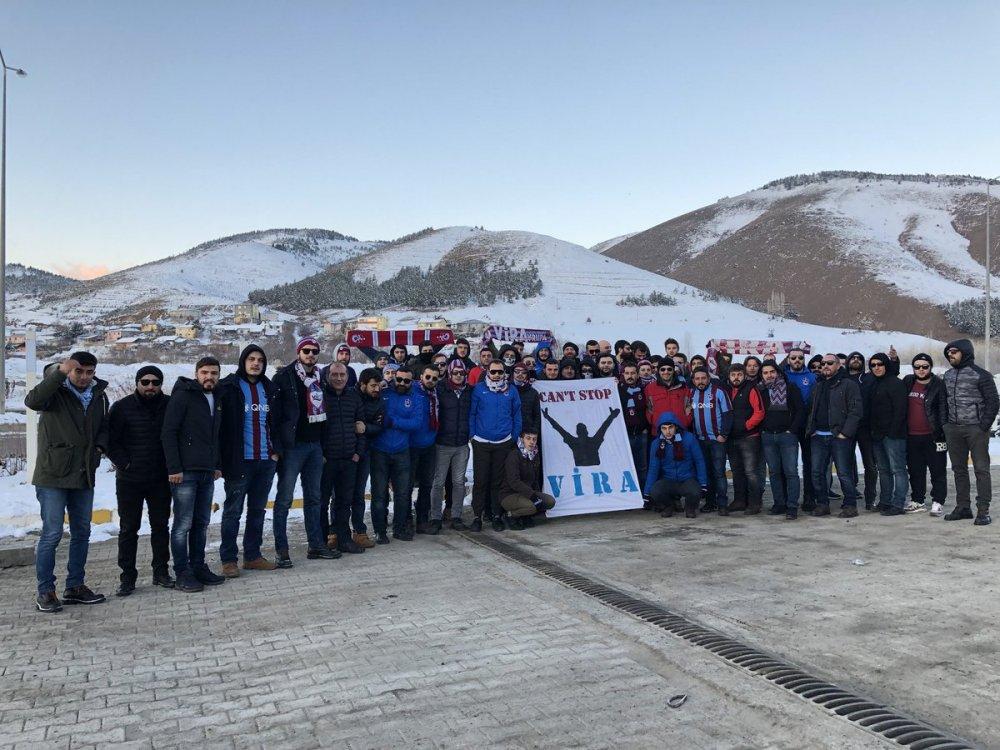 Trabzonspor taraftarları büyük tehlike atlattı