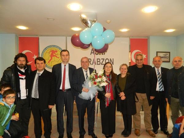 Öğrencilerden ASKF'ye ziyaret