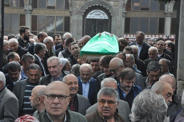Özdemir Sümer son yolculuğuna uğurlandı