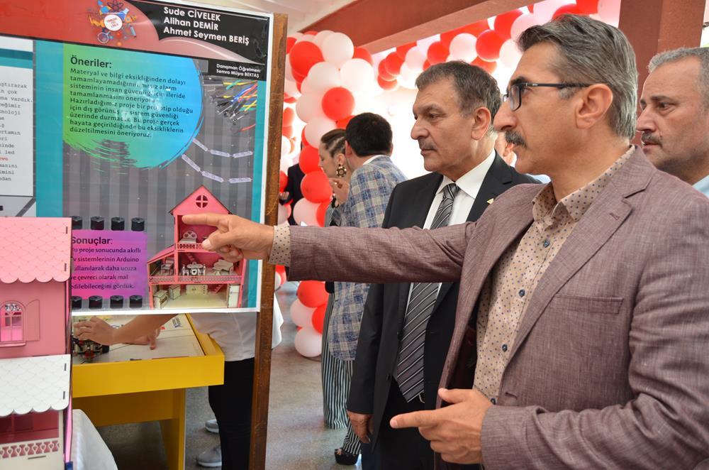 Trabzon Fen Lisesi TÜBİTAK Bilim Fuarı göz kamaştırdı.